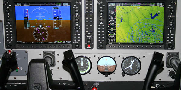 King Air G1000 Flight Training Device
