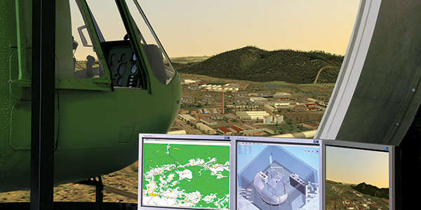 ASE 1000 Full Mission Capable Flight Training Device